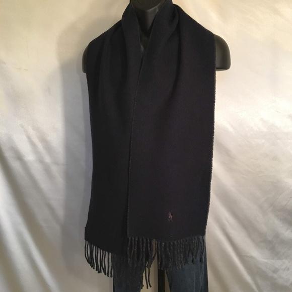 Polo Ralph Lauren Reversible Lambs Wool Scarf
